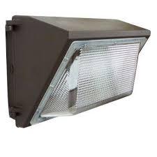 wall pack 100 watt bronze outdoor integrated led industrial grade light