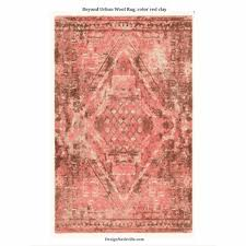 beyond urban wool rug color red clay 17 png