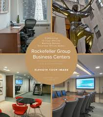 Virtual Office Design Impressive Rockefeller Center Coworking Rockefeller Group Business