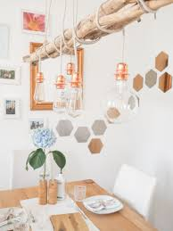 Diy Kupfer Lampe In 2019 Lampy Kupferlampe Treibholz Lampe Und