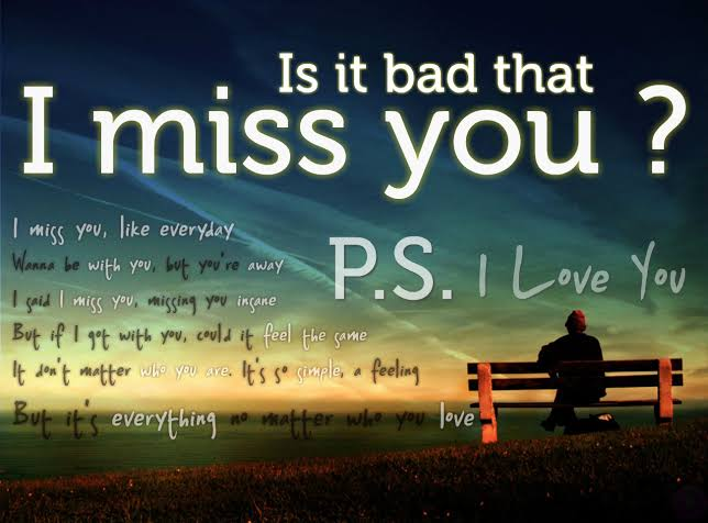miss you messages for him