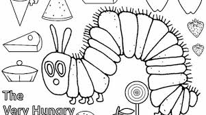Small Picture Very Hungry Caterpillar Coloring Pages Printables 19 Photo Gallery