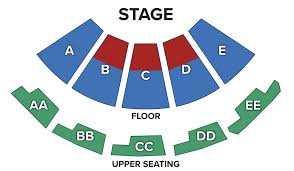 Roger Rocka S Dinner Theater Seating Chart Seating Chart Visalia First