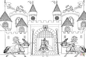 Small Picture King Arthur Castle coloring page Free Printable Coloring Pages