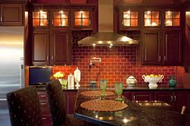 Brick Kitchen Incredible Kitchen Wall Design With Dark Brick Kitchen Kitchen