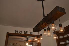 fayette wood beam chandelier solid beam downlight with 8 lights farmhouse chandelier for