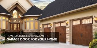 replacement garage doorsHow to Choose a Replacement Garage Door  AAll Style Garage Door