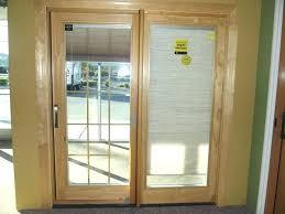 windows blinds inside patio door between glass pull down best for