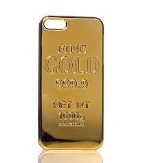 iphone 5s gold case. the gold brick iphone case for 5 and iphoen 5s is forged from same design as streetwear brand, sprayground\u0027s, best-selling backpacks. iphone 5s