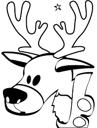 Small Picture Reindeer coloring pages printable ColoringStar