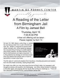 Martin Luther King Jr Letter From Birmingham Jail Letter