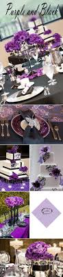Your Wedding Color Purple Wedding Cake With Flowers And The