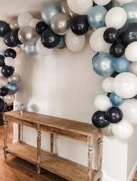 easy balloon garland