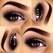 perfectly shaped eyebrows and soft smokey eyes for brown eyes eyebrows smokeyeyes makeup