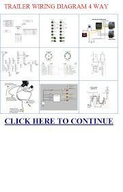 trailer wiring diagram way diagram way trailer wiring trailer wiring diagram 4 way