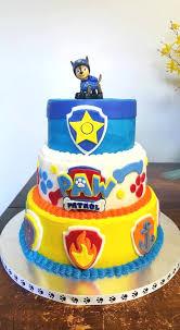 paw patrol cake e