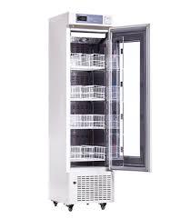 refrigerator and freezer. blood bank refrigerator - single door and freezer