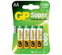 Батарейки GP Super Alkaline LR-6 4шт (поштучно)