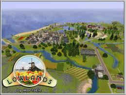 12 CreationsDownloads / Sims 3 / Worlds