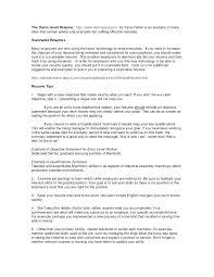 Sample Executive Summary For Resume Summary Outline Template