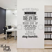 office wall decal. Work Office Wall Decal L