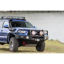 arb 3423160k toyota tacoma front bumper black with summit bull bar 2002 Tacoma Grill at 2002 Tacoma Front Bumper Wiring Harness