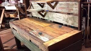 rustic pallet furniture. Rustic Pallet Furniture Desks \u0026 Tables