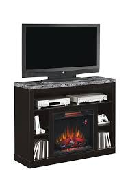 classicflame adams black electric fireplace