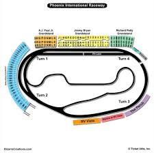 High Quality Seating Chart For Phoenix International Raceway