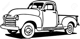 chevy truck silhouette at getdrawings