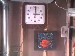 simplex synchronized clock in \