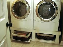 washer and dryer pedestals crazy wonderful stand installed pedestal plans diy with storage