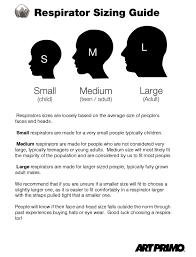 Half Mask Respirator Size Chart 64 Inquisitive 3m Respirator Sizing Chart