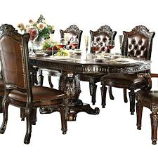 white leather dining room set other dining room sets leather chairs contemporary on other inside chair