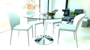 small round glass dining table and small round glass dining table sets retro glass top dining