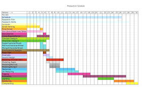Film Production Calendar Template Production Scheduling Spreadsheet Production Schedule Template Excel