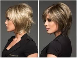 Krásne Dámske účesov Pre Krátke Vlasy 2019 Po 40 Rokoch Fotografie