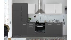 Küchenblock Pepper 310 Küche Küchenzeile Anthrazit Und Weiß 310x211 Cm