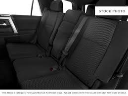 red barcelona red metallic 2018 toyota 4runner rear seat photo in brockville on