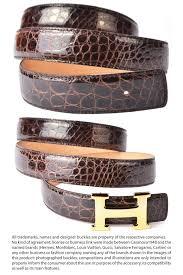 bordeaux alligator belt strap for hermes buckles
