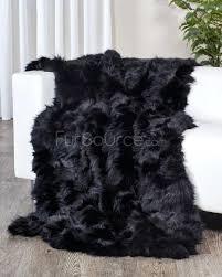 black faux fur rug black fox fur blanket fur throw ordinary black throw rug awesome design black faux fur rug
