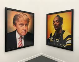 andres serrano s portraits of donald trump and snoop dogg at galerie nathalie obadia s frieze new york