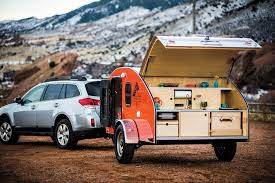 small travel trailers with bathroom. Best Small Camper Trailers Extraordinary Teardrop Trailer With Bathroom Photo Ideas Timberleaf Rear Towed The Spruce Travel