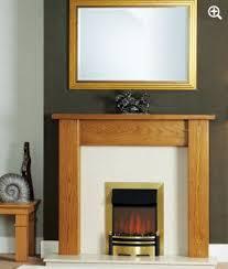 janine wooden fireplace