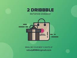 i have 2 dribbble invites send me your best 3 shots or portfolio to rahulp8984 gmail with the subject dribbble invites and do not forgot to mention