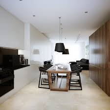 Walnut Kitchen Floor White Walnut Kitchen Diner Interior Design Ideas
