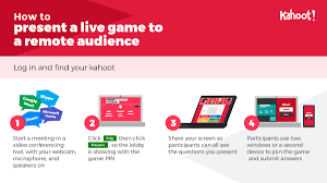 Still not sure about kahoot!? How To Host Kahoot Remotely Connect With Video Conference Or Webinar
