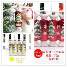 Us 46 7 Offgold Rot Gemalt Candy Anhänger Weihnachtsschmuck 13 Cm Christbaumschmuck Anhänger In Gold Rot Gemalt Candy Anhänger Weihnachtsschmuck