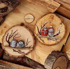 amazing interior design 10 log slice wall art ideas you would love to try crafts are fun