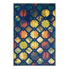 loloi lyon blue indoor area rug common 7 x 10 actual 7 58 ft w x 10 41 ft l